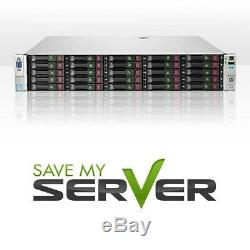 HP Proliant DL380p G8 25 Bay Server 2x E5-2630Lv2 2.4GHz 6C 64GB 2 Trays