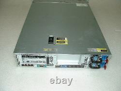 HP Proliant DL380p G8 2U Server 2x E5-2620 v2 2.1Ghz 12-Cores 64gb P420i 2xTrays