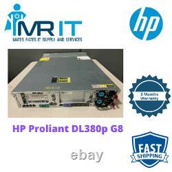 HP Proliant DL380p G8, 2 xCPU E5-2630 @ 6C 2.30GHz, 48GB RAM 12 LFF Caddies Incl