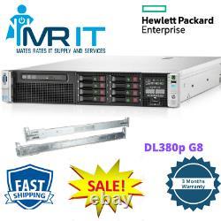 HP Proliant DL380p G8 2 x CPU E5-2670@ 2.6GHz 16CORE 128GB RAM 2x 146GB Rails