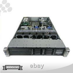 HP Proliant DL380p G8 Gen8 8SFF 2x 6 CORE E5-2630 2.3GHz 2xPSU NO RAM NO HDD
