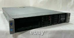HP Proliant DL380p G8 Intel Xeon E5-2609 @ 2.40Ghz / 8GB RAM / 0GB HDD Server