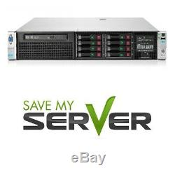 HP Proliant DL380p G8 SFF Server 2x 2.50GHz 12 Cores 32GB RAM P420 RPS + 4 Trays