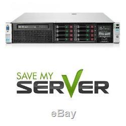 HP Proliant DL380p G8 Server 2x E5-2620 2.00GHz 12-Core 16GB RAM SPS