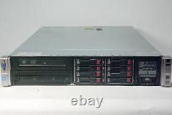 HP Proliant DL380p G8 Server Dual Xeon 2.5GHz E5-2640 4 Core 96GB Ram 8 x SAS HD