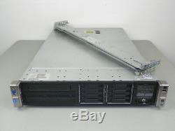 HP Proliant DL380p Gen8 G8 2x E5-2690 8-Core 2.9GHz 128GB Server P420i + RAILS