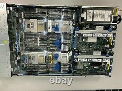 HP Proliant DL560 G8 1,344 GB RAM 4 x Xeon E5-4657L v2 2.40GHz 48 Cores