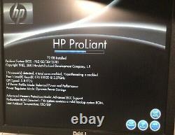 HP Proliant Dl380 G6 8-bay Server Xeon E5520 2.27ghz 72gb Ddr3 Ecc Ram E1800b