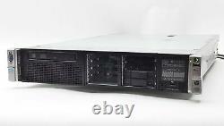 HP Proliant Dl380p Gen8 G8 Xeon Qc E5-2643 3.30ghz 32gb 8-bay 2.5 Sas Server