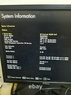 HP Proliant ML150 G9 with 2x E5-2620v3 2.4GHz 6-Core 16GB RAM NO HDDS (GRADE A)