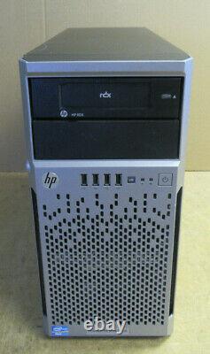 HP Proliant ML310E G8 Xeon Quad Core E3-1240v2 3.40Ghz 8GB 8x 2.5 Tower Server