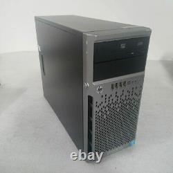 HP Proliant ML310e G8 v2 SFF Tower Server E3-1240 v3 3.4GHz / 16GB / No HDD