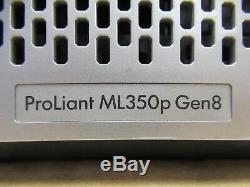 HP Proliant ML350p G8 GEN8 2 x XEON E5-2680 8-Core 2.7GHz 192GB Ram Tower Server