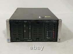 HP Proliant ML350p Gen8 SFF Server 1x E5-2680 2.7Ghz 64GB 4x 300GB 10K 2x 750W