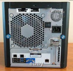 HP Proliant MicroServer Gen8, Xeon DuoCore 2.30GHz, 4x1TB HDDs, 8GB RAM, TPMv1.2