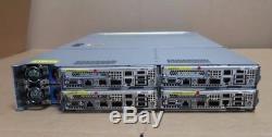 HP SE4255e 2U 4 Node Rack Mount Server 48 Cores 8 x 3.0GHz 6-Core 96GB 24 x 2.5