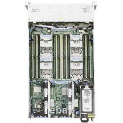 HP Server ProLiant DL560 Gen8 4x 8C Xeon E5-4650 2,7GHz 128GB