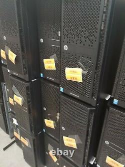 LOT of 4 HP Proliant ML150 G9 with 2x E5-2620v3 2.4GHz 6-Core 16GB RAM, 8 CADDIES