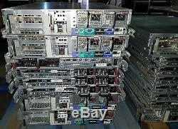 Lot of 16 HP ProLiant DL 360 380 G5 Servers 3.8 GHz 2.5 GHz Blades Rack Mount
